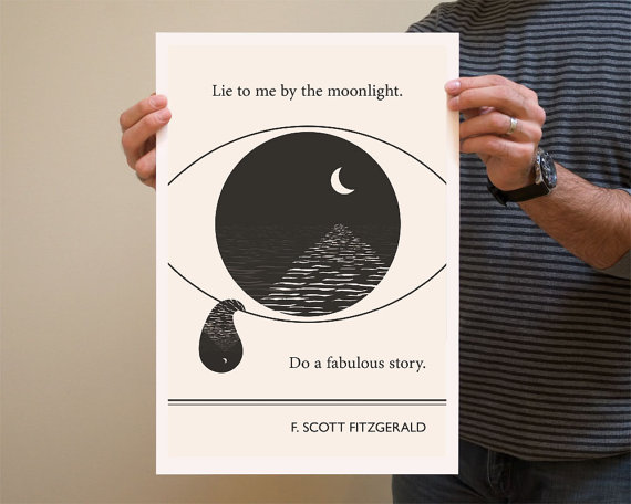 Famous Quotes and Etsy Illustrators (1/6)