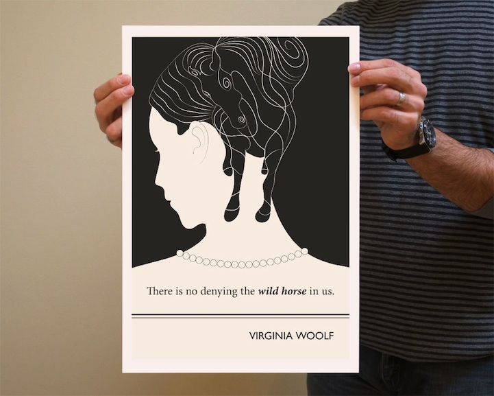 Famous Quotes and Etsy Illustrators (3/6)