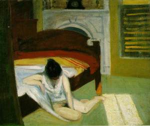 Summer Interior, Edward Hopper