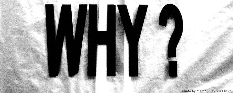 "When approaching a new writing project, search for the ""why"""
