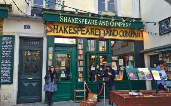 Every writer visiting Paris should visit Shakespeare and Company