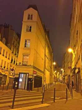 Paris home of Andre Chenier, writer, poet, and guillotine victim.