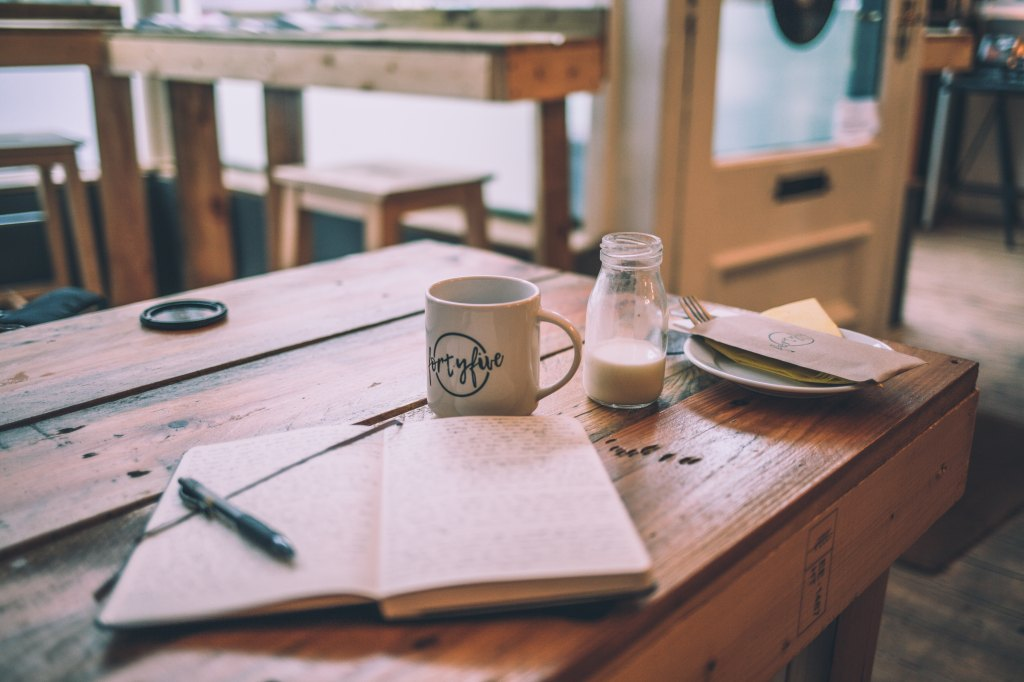 Daily Creative Writing where and when to write